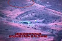 Ստեփանակերտը ներկայացրել է Ադրբեջանի ԶՈՒ կողմից կիրառված ՍՊԱՅԿ-ի արձակման պահի և հետքի տեսագրությունը