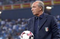 Вентура уволен из сборной Италии