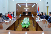 Масис Маилян представил депутатам парламента Арцаха приоритеты внешней политики