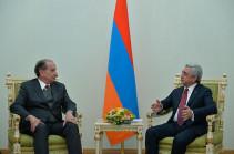 Алоизио Нуньес Ферейра: Бразилия поддерживает посреднические усилия Минской группы ОБСЕ по мирному урегулированию карабахского конфликта