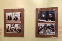 В Национальной галерее открылась выставка, посвященная 25-летию установления дипломатических отношений между Арменией и РФ