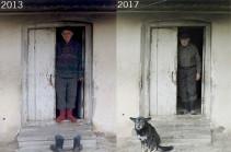 Բերքաբեր. Սահման պահող տունը, Երվանդ պապն ու Արաքսյա տատը` 4 տարի անց. Լուսանկարներ