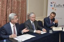 Նախագահը հանդիպում է ունեցել «Հայաստանի եվրոպացի բարեկամներ» կազմակերպության խորհրդի անդամների հետ