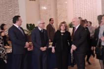 Մշակութի նախարարը, առաջին տիկինն ու ԱՄՆ և ՌԴ դեսպանները հաջողություն են մաղթել Տիգրան Մանսուրյանին ու Կոնստանտին Օրբելյանին «Գրեմմի» մրցանակաբաշխությունում