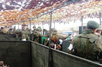 В Армении началась тренировка подразделений российской военной базы