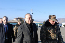 Հայաստանը պատրաստ է աջակցելու ձեզ բոլոր ուղղություններով. Լևոն Ալթունյանն Արցախում այցելել է դիրքապահ զորամաս