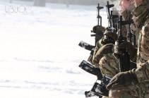 ВС Азербайджана за минувшую неделю произвели в направлении армянских позиций свыше 2300 выстрелов