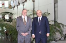 Ռուբեն Սադոյանն ԱՄՆ դեսպանին է ներկայացրել ԼՂ հիմնախնդրի խաղաղ կարգավորման հարցում Ադրբեջանի ապակառուցողական գործելաոճը