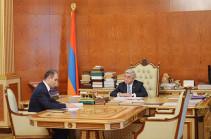 Серж Саргсян дал поручения председателю Комитета государственных доходов