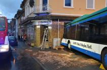 Գերմանիայում երեխաներ տեղափոխող ավտոբուսը վթարի է ենթարկվել