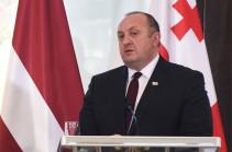 Президент Грузии отказался помиловать Саакашвили