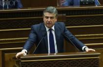 Премьер-министр Армении удивился вопросам депутатов о росте цен