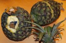 Полиция Испании и Португалии обнаружила кокаин внутри ананасов