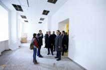 Տարոն Մարգարյանն այցելել է զինծառայողների համար Երևանում կառուցվող վերականգնողական կենտրոն. քաղաքապետարանը աջակցություն կցուցաբերի կենտրոնին