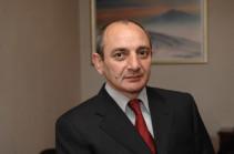 Бако Саакян поздравил работников судебной системы с профессиональным праздником