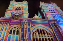 В Лондоне проходит фестиваль света Lumiere (Видео)