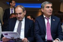 У меня здесь есть хорошие друзья – Арам Саркисян на съезде партии «Светлая Армения»