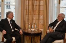 Մյունխենում տեղի է ունեցել Հայաստանի և Իրանի արտգործնախարարների հանդիպումը (Լուսանկար)