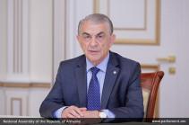 Ара Баблоян выразил соболезнования председателю Меджлиса Ирана