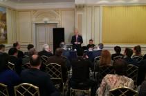 Բրյուսելում տեղի է ունեցել Արմեն Սարգսյանի հանդիպումը Բելգիայի հայ համայնքի ներկայացուցիչների հետ