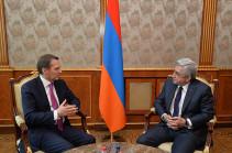 Սերժ Սարգսյանը կարևորել է ՌԴ հատուկ ծառայությունների հետ սերտ համագործակցությունը
