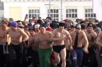 Մինսկում իսկական տղամարդկանց մրցավազք է անցկացվել (Տեսանյութ)