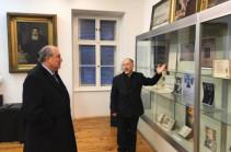 Արմեն Սարգսյանն այցելել է Մխիթարյան միաբանություն