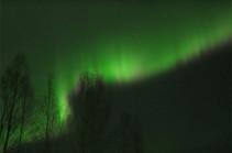 Ֆինլանդիայում տեսագրել են հյուսիսային բևեռափայլ (Տեսանյութ)