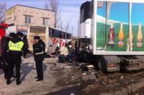 Երևան-Մոսկվա ավտոբուսի վթարի հետևանքով 3 վիրավոր գտնվում է վերակենդանացման բաժանմունքում, 5-ը՝ վիրաբուժականում