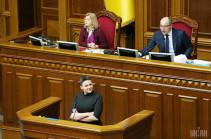 Рада сняла неприкосновенность с Савченко и разрешила ее арестовать