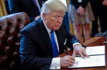 Трамп подписал меморандум о торговых ограничениях в отношении Китая