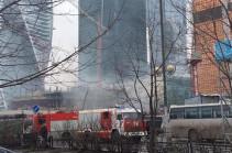 Из-за задымления в «Бургер Кинг» в Москве эвакуировано более 6 тысяч человек