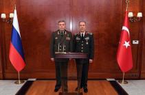 Главы генштабов ВС России и Турции провели переговоры в Анкаре