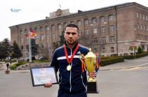 Арцахский спортсмен стал чемпионом международного турнира (Bидео)