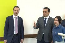Микаел и Карен Варданяны пожертвовали 120 млн. драмов Реабилитационному центру Защитника Отечества (Видео)