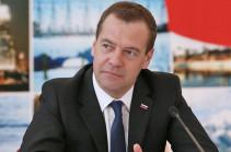 Դմիտրի Մեդվեդևը շնորհավորել է Սերժ Սարգսյանին՝ ՀՀ վարչապետի պաշտոնում ընտրվելու կապակցությամբ