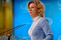 Москва убеждена, что протесты в Армении будут урегулированы демократическим путем
