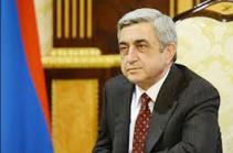 Մարդկանց կյանքը բարելավվել է. Սերժ Սարգսյան