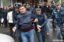 Ժամը 14:00-ի դրությամբ ոստիկանություն է բերվել 166 մարդ