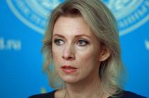 Որոշումը, թե ով է ղեկավարելու Հայաստանը, պետք է կայացվի այդ երկրի ներսում. Մարիա Զախարովա