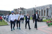 Ֆուտբոլի Հայաստանի գավաթը ներկայացվեց Սյունիքում. Լուսանկարներ