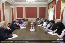 ԵԽԽՎ մոնիթորինգի հանձնաժողովի Հայաստանի հարցերով համազեկուցողների հետ քննարկվել է Ընտրական օրենսգրքի փոփոխության հարցը