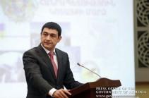 Губернатор Котайка представил заявление об отставке