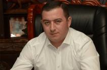Губернатор Гегаркуника написал заявление об отставке