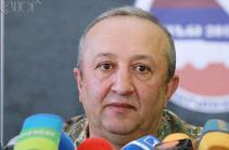 Бывший начальник ГШ ВС Армении назначен главным военным инспектором