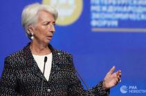 Глава МВФ предупредила о рисках для рынков из-за растущего доллара