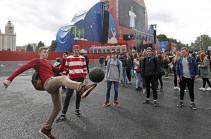 Более двух миллионов футбольных фанатов приехали на ЧМ в Россию