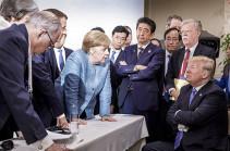 Трамп прокомментировал плохую фотографию с саммита G7