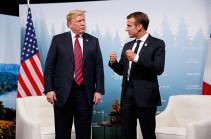 Трамп и Макрон обсудили КНДР, Иран, Сирию и торговлю