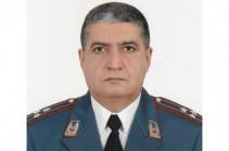 Начальник полиции Еревана освобожден от занимаемой должности